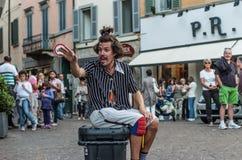 Καλλιτέχνης οδών Στοκ φωτογραφίες με δικαίωμα ελεύθερης χρήσης