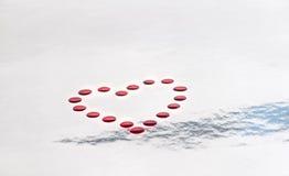 καλλιτεχνική καρδιά Στοκ Εικόνα