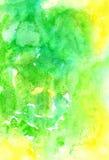 Καλλιτεχνική χειροποίητη ζωηρόχρωμη εικόνα aguarelle για το πολύ διαφορετικό δ Στοκ Εικόνα