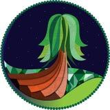 καλλιτεχνικό δέντρο Στοκ φωτογραφίες με δικαίωμα ελεύθερης χρήσης