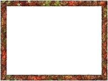 Καλλιτεχνικό αφηρημένο πλαίσιο φυλλώματος απεικόνιση αποθεμάτων