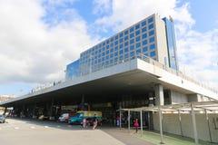 Καλλιτεχνικό κτήριο, Βαρκελώνη Στοκ εικόνες με δικαίωμα ελεύθερης χρήσης