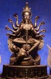 Καλλιτεχνικό Durga Στοκ φωτογραφία με δικαίωμα ελεύθερης χρήσης