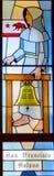 Καλιφορνέζικο λεκιασμένο αποστολή παράθυρο γυαλιού Στοκ Φωτογραφίες
