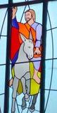 Καλιφορνέζικο λεκιασμένο αποστολή παράθυρο γυαλιού Στοκ Εικόνα