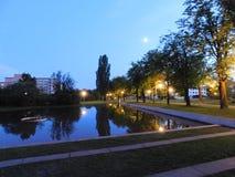 καλοκαίρι κήπων απελευ& Στοκ Φωτογραφίες