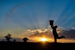Καλοκαίρι και η sweltering θερμότητα στοκ φωτογραφία με δικαίωμα ελεύθερης χρήσης