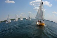 Καλοκαίρι πανιών Στοκ εικόνες με δικαίωμα ελεύθερης χρήσης