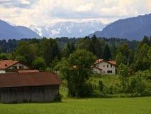 Καλοκαίρι στην ανώτερη Βαυαρία στοκ φωτογραφίες με δικαίωμα ελεύθερης χρήσης
