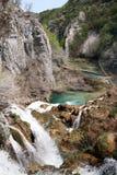 Καλοκαίρι στο εθνικό πάρκο της Κροατίας Στοκ εικόνες με δικαίωμα ελεύθερης χρήσης