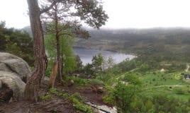 καλοκαίρι της Νορβηγίας Στοκ Εικόνες