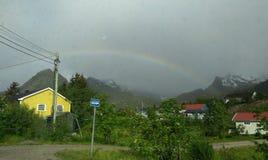 καλοκαίρι της Νορβηγίας Στοκ Φωτογραφίες
