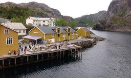 καλοκαίρι της Νορβηγίας Στοκ Φωτογραφία