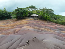 Καλοκαίρι του Μαυρίκιου εδάφους επτά χρώματος Στοκ Φωτογραφίες