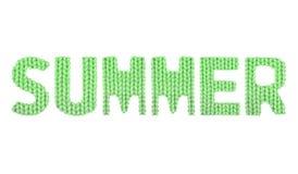 Καλοκαίρι Χρώμα πράσινο Στοκ Εικόνα