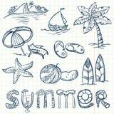 Καλοκαίρι απεικόνιση αποθεμάτων