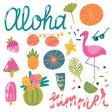 Καλοκαίρι Aloha! Στοκ εικόνα με δικαίωμα ελεύθερης χρήσης