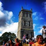 Καλοκαίρι Castle Στοκ Εικόνες