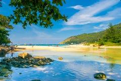 Καλοκαίρι phuket Ταϊλάνδη άποψης θάλασσας Στοκ Εικόνες