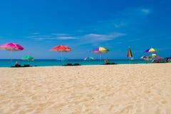 Καλοκαίρι phuket Ταϊλάνδη άποψης θάλασσας Στοκ Φωτογραφία