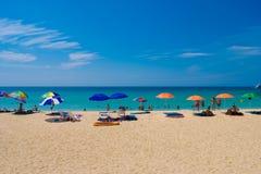 Καλοκαίρι phuket Ταϊλάνδη άποψης θάλασσας Στοκ εικόνες με δικαίωμα ελεύθερης χρήσης