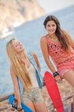 καλοκαίρι teens Στοκ Εικόνα