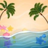 Καλοκαιρινές διακοπές απεικόνιση αποθεμάτων