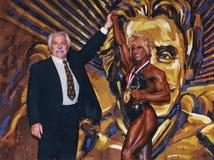 Κα Ολυμπία Champion Weider Στοκ φωτογραφίες με δικαίωμα ελεύθερης χρήσης