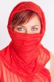 καλυμμένη γυναίκα Στοκ φωτογραφία με δικαίωμα ελεύθερης χρήσης