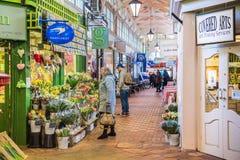 Καλυμμένη η Οξφόρδη αγορά Στοκ εικόνα με δικαίωμα ελεύθερης χρήσης
