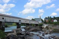 Καλυμμένη λουτρό γέφυρα στοκ εικόνες