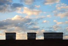 καλυμμένος ουρανός Στοκ φωτογραφία με δικαίωμα ελεύθερης χρήσης