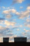 καλυμμένος ουρανός Στοκ εικόνα με δικαίωμα ελεύθερης χρήσης