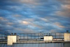 καλυμμένος ουρανός Στοκ εικόνες με δικαίωμα ελεύθερης χρήσης