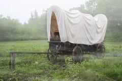 Καλυμμένο βαγόνι εμπορευμάτων Στοκ εικόνες με δικαίωμα ελεύθερης χρήσης