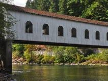καλυμμένο γέφυρα goodpasture στοκ εικόνα