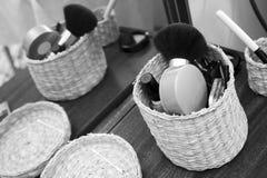 Καλλυντικά εργαλεία Στοκ Φωτογραφίες