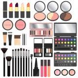 Καλλυντικά Makeup Διανυσματική απεικόνιση