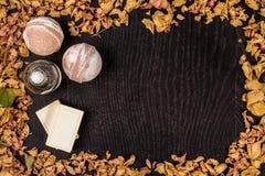 Καλλυντικό λουτρών SPA Aromatherapy με το φυσικές σαπούνι και τη βόμβα Χαλάρωση υγιεινής για το σώμα Στοκ εικόνα με δικαίωμα ελεύθερης χρήσης