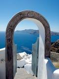 Καλωσορίστε σε Santorini Στοκ Εικόνες