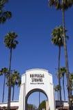 Καλωσορίστε στα UNIVERSAL STUDIO, Λος Άντζελες Στοκ εικόνα με δικαίωμα ελεύθερης χρήσης