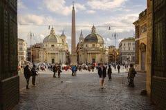 Καλωσορίστε στη Ρώμη Στοκ φωτογραφία με δικαίωμα ελεύθερης χρήσης