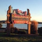 Καλωσορίστε στις Ηνωμένες Πολιτείες της Αμερικής Στοκ εικόνες με δικαίωμα ελεύθερης χρήσης