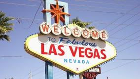 Καλωσορίστε στο μυθικό Λας Βέγκας - πόλη του Λας Βέγκας Nevada/USA φιλμ μικρού μήκους