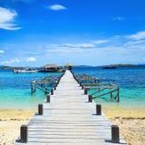 Καλωσορίστε στο νησί kanawa στοκ φωτογραφία