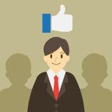 Καλός επιχειρηματίας τρισδιάστατη εικόνα ηγετών που δίνεται την ομάδα Επιχειρησιακό σχέδιο conept απεικόνιση αποθεμάτων