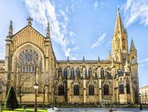 Καλός καθεδρικός ναός ποιμένων του San Sebastian Στοκ εικόνες με δικαίωμα ελεύθερης χρήσης