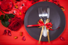 Καλό γεύμα βαλεντίνων Στοκ φωτογραφία με δικαίωμα ελεύθερης χρήσης