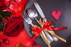 Καλό γεύμα βαλεντίνων Στοκ Φωτογραφίες