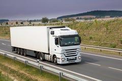 καλό λευκό truck αρχείων διαφημίσεων Στοκ Εικόνες